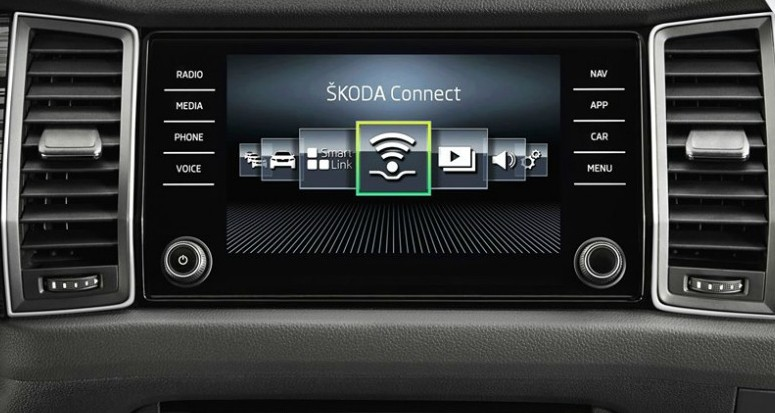 skoda connect cover
