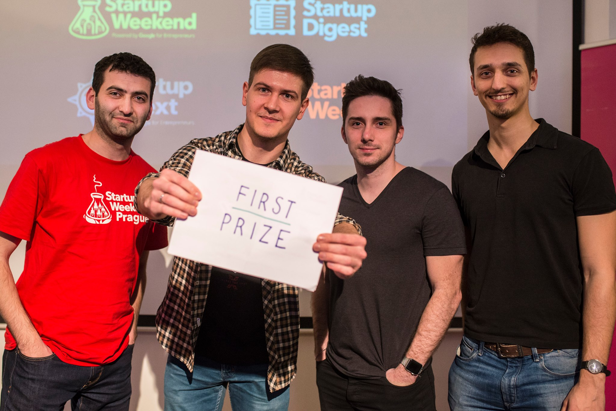 startup weekend first prize